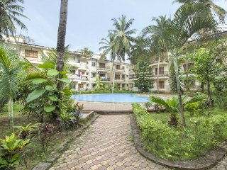 Well appointed 2-bedroom apartment,  1.4 km from Calangute beach