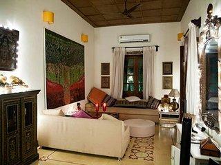 A lavish Portuguese Villa, 1 km from Calangute Beach