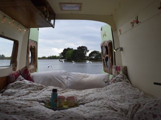 Bella, luxury campervan hire from Quirky Campers