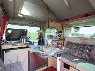 Yuki,luxury campervan hire from Quirky Campers