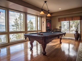 Luxury Tahoe Home with Panoramic Lake Views