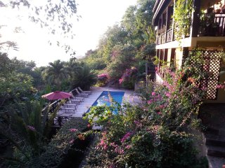 VILLA POMME D'AMOUR  a 3 minute walk to a secluded cove, ideal for snorkeling