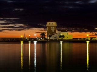 Almería, puerto de Almerimar  , ideal para parejas, preciosas vistas al mar.