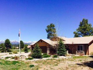 My Happy Place is a relaxing vacation home located in the Pagosa Lakes area., Pagosa Springs