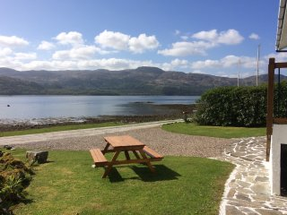 Ardnamurchan  House on the Shore  on Loch Sunart  West Highlands Sleeps up to 8
