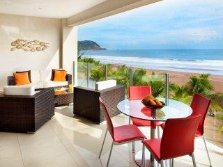 Ocean front 2BR Apartment Diamante del sol 402N
