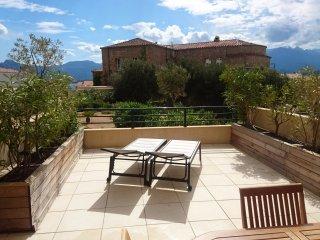 Corse location de vacances a Calvi - Studio cabine de 1 a 4 personnes