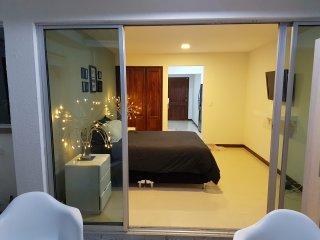 apartamento amoblado 1 cama 1 sofa cama