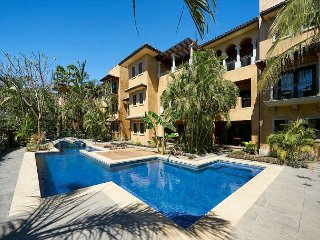 Luxurious penthouse- kitchen, cable, gas grill, a/c, private terrace w/Jacuzz, Tamarindo