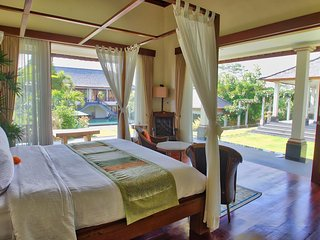 Luxury four bedroom private villa Malabar House Ubud