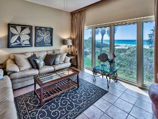 Breathtaking Gulf Views from This Stylish 2nd Floor Tops'l Beach Manor Condo!