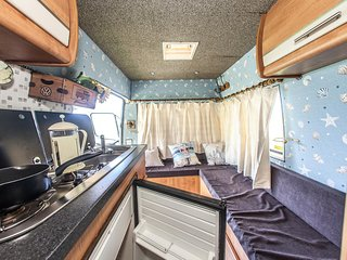 Maureen, luxury campervan hire from Quirky Campers