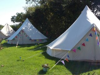 Beautiful 5m Bell Tent - Furnished with electric.