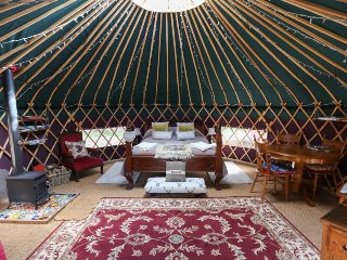The Dragonfly Yurt