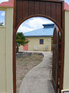Arched entryway