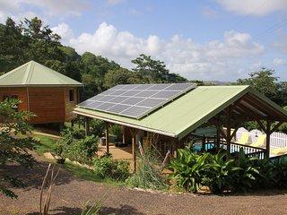 Loue bugalow ecologique  avec piscine ,wifi transfert aeroport  location voiture