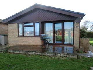 A detached bungalow in a peaceful setting on a fun holiday park.