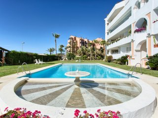Frontline beach and sea view apartment Puerto Banus Marbella