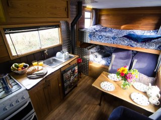 Luna, luxury campervan hire from Quirky Campers