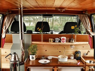 Finn, luxury campervan hire from Quirky Campers