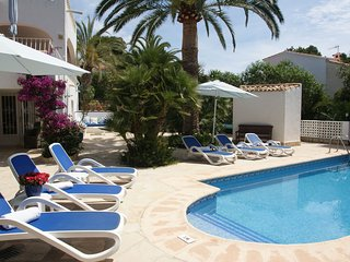 Villa Margaritas in Moraira near the beach and sea