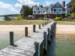 HODGE - Stunning Waterfront Home on the Lagoon, Complete Renovation and, Vineyard Haven