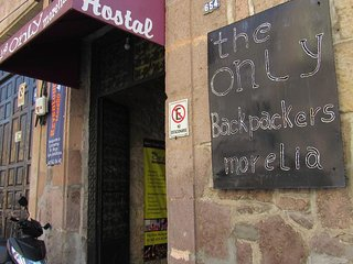 Hostel The Only Backpackers, Morelia