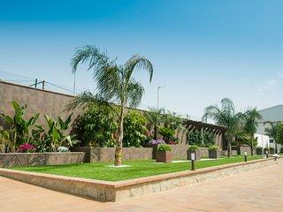 Casas para 8 personas con piscina comunitaria y jardin privado