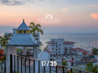 Ocean Views, Walk to Beach & Town, Puerto Vallarta