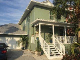 Key West-Style Waterfront Retreat in Tampa Bay, FL
