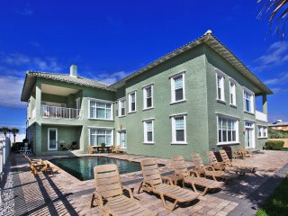 Luxury Vacation Home – Direct Oceanfront –Heated Pool - 8BR/8.5BA -#33