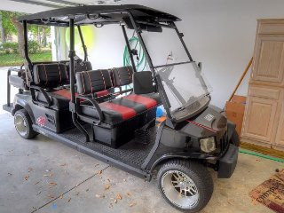 Now offering 15 % off stays in SEPT. Golf  Cart Included