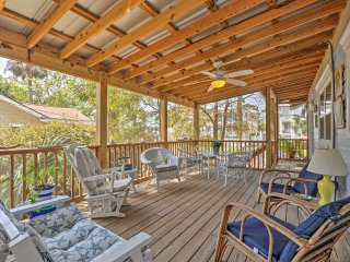 NEW! 3BR on Tybee Island w/Room for 15 on Premises