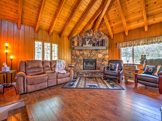 NEW! 3BR Lake Arrowhead Cabin - Close to the Lake!