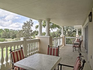 NEW! 3BR Reunion Condo Overlooking Golf Course!
