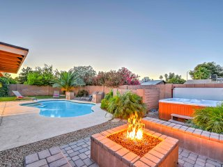 NEW! 4BR Mesa House w/ Pool, Hot Tub & Fire Pit!