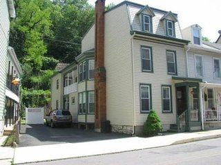 Off street private parking in the heart of downtown Jim Thorpe!!!