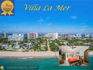 Luxury Beach Villa LaMer *Stroll to the Beach*, Fort Lauderdale