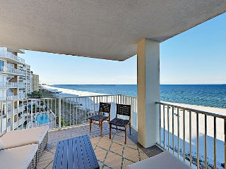 'Rare East Corner Unit with Wraparound Balcony. Best views in Orange Beach'