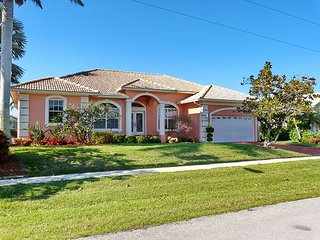 Waterfront home w/ heated pool just a short walk from magical Mackle Park