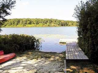 Lake Front Vacation Home on Lovers Lake in Chatham, sleeps 10! Central Air!