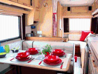 Tiki, luxury campervan hire from Quirky Campers