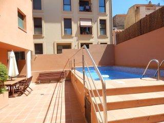Apartamento centro Begur con piscina