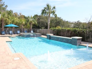 Private largest in area 49ft long pool to go with largest playroom as well!