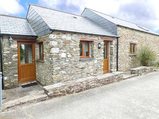 RICCAN COTTAGE, detached, spacious barn conversion, woodburner, exposed beams, Lanreath