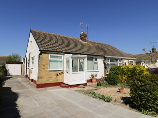 DELFRYN, semi-detached, summerhouse, enclosed garden, pet-friendly, nr
