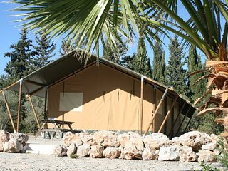 Safari tent t/m 6 pers.