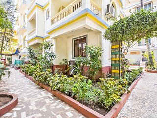 Peaceful abode for a family, near Calangute Beach