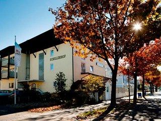 Schillerhof - Doppelzimmer Südseite - 35 qm