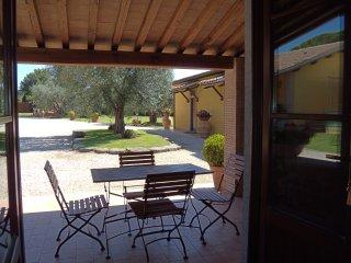 Appartamento bilocale vista giardino, Bolsena